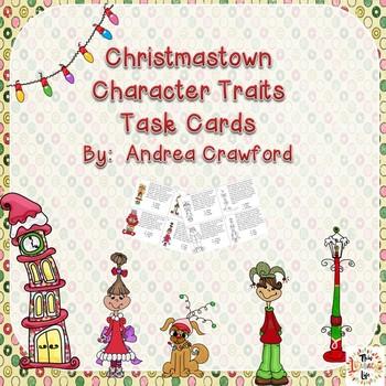 Christmas Character Traits Task Cards