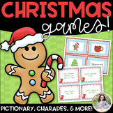 Christmas Charades and More! {88 Song, Phrase, & Picture Cards, 5 games in 1!}