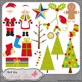 Christmas Cheer 2 - Art by Leah Rae Clip Art & Line Art /