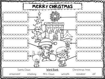 Christmas Cheer {25 NO PREP Literacy Activities}