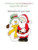 Christmas Cheer Bookmarks
