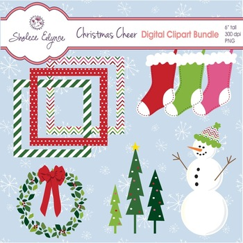 Christmas Cheer Clipart Bundle