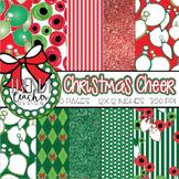 Christmas Cheer Digital Paper