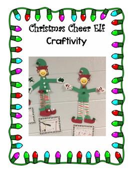 Christmas Cheer Elf Craftivity