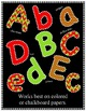 Christmas Cheer Letters - Clip Art