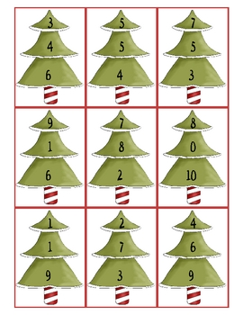 Christmas Cheer Math Centers