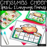 Gingerbread Christmas Speech Therapy: Articulation and Language (Ten Frames)