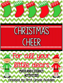 Christmas Cheer {for your Little Dears}:  Freebie Christmas Activity Pack!