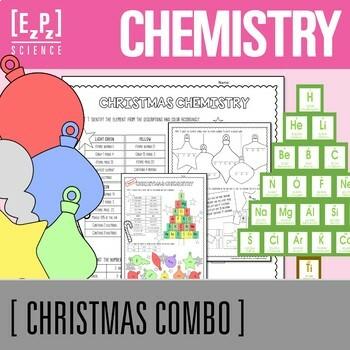 Christmas Chemistry and Chemis-tree Decor Bundle