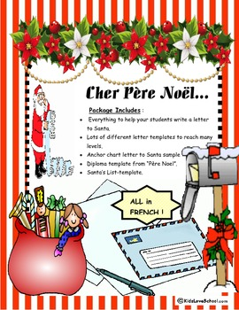 christmas cher pa¨re noal everything to write a letter to santa