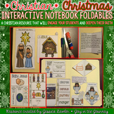 Christmas Christian Interactive Notebook Foldables Religious