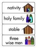 Christmas Christian Sight Word Cards