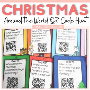 Christmas: Christmas Around the World {QR Code Hunt}