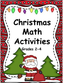 Christmas:  Christmas Math Activities 2-4