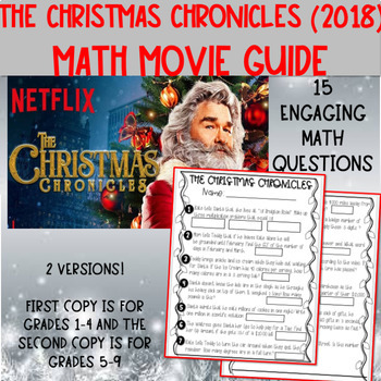 The Christmas Chronicles Poster.Christmas Chronicles 2018 Math Movie Guide