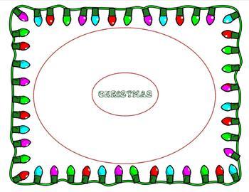 Christmas Circle Map