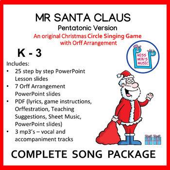 Christmas Singing Game Worksheets Teachers Pay Teachers