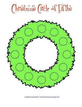 Christmas Circle of 5ths