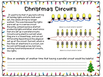 Christmas Science -  Circuits