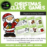 Physical Activity Sports Games - Christmas Themed