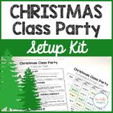 Christmas Class Party Setup Kit