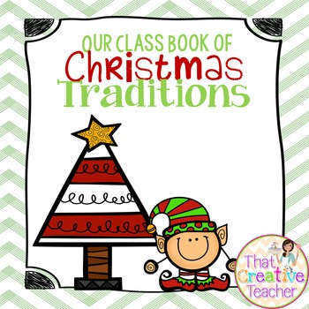 Christmas Class Traditions Book