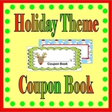 Christmas Classroom Coupon Books