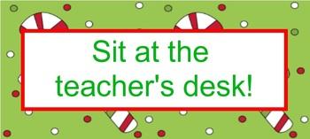 Christmas Classroom Coupon Books