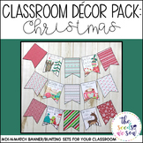 Christmas Classroom Decor Banner Pack