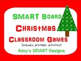 Christmas Classroom Games: SMARTboard with printables