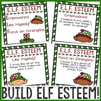 Christmas Classroom Guidance Lesson - Self Esteem - Elementary School Counseling