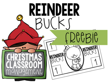 Christmas Classroom Management FREEBIE
