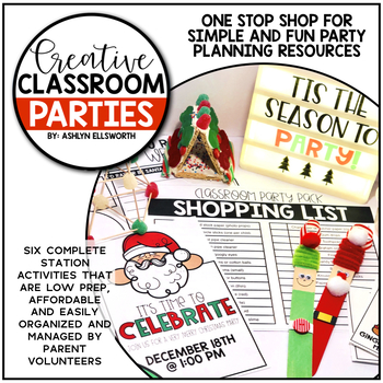 Christmas Classroom Party Pack
