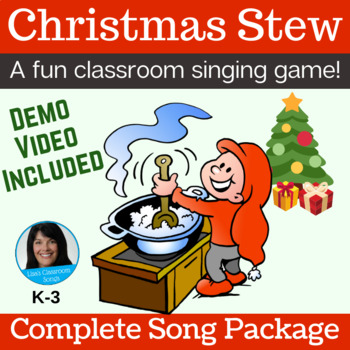 """Christmas Classroom Song 