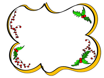 Christmas Clip Art - 16 clips in color and in b&w