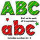 Christmas Clip Art Alphabet | Bulletin Board Letters