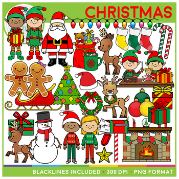 Christmas Clip Art Bundle!