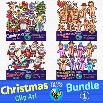 Christmas Clip Art Bundle 1