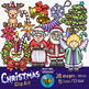 Christmas Clip Art Bundle 1