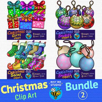 Christmas Clip Art Bundle 2