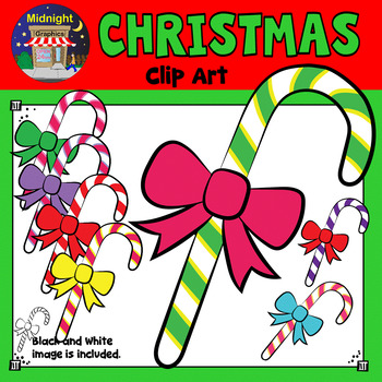 Christmas Clip Art - Candy Cane
