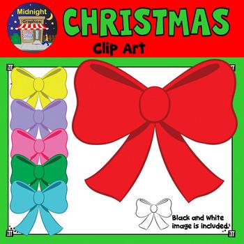 Christmas Clip Art - Christmas Bow