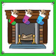 Christmas Clip Art - Christmas Bundle with Santa, Elves and Fireplace