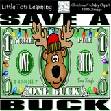 Christmas Clip Art - Christmas Money - Personal and Commer