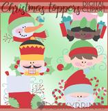 Christmas Clip Art - Christmas Toppers