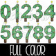Christmas Clip Art -Christmas Tree Numbers