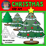Christmas Clip Art - Christmas Trees - Green