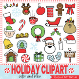 Christmas Clip Art (Color and Black & White) Christmas Cli