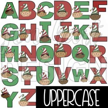 Alphabet Letters Clip Art - Elf Letters {jen hart Clip Art}