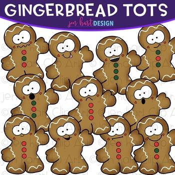 Christmas Clip Art -Gingerbread Tots {jen hart Clip Art}